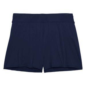 Lands' End Swim Shorts w/Tummy Control Blue NWT